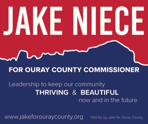 Jake Niece for Ouray County