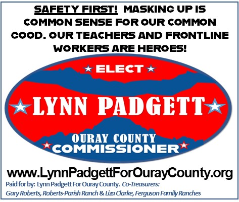 Lynn Padgett for Ouray County