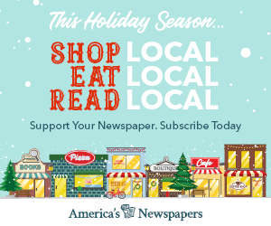Shop local, read local.