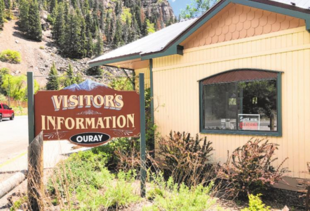 After being closed for nearly two months, the Ouray Visitors' Center will reopen Friday for Memorial Day weekend and be staffed by volunteers. City officials will then assess whether to keep it open. Mike Wiggins —Ouray County Plaindealer