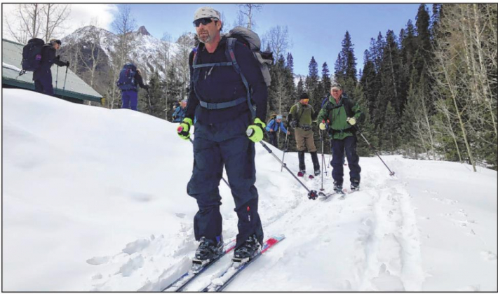 "A group of veteran Green Berets traversed the Sneffels Range in early March as part of a program that uses ""adventure therapy"" to help war-weary soldiers. Jason Blevins — The Colorado Sun"