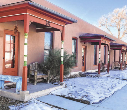 Jason Blevins — The Colorado Sun Row homes in Salida, which is among many communities in Colorado that are regulating short-term rental properties.