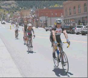Plaindealer file photo Ride the Rockies competitors roll through Ouray on their way to Ridgway during the 2017 tour. The annual event, which runs this year from June 14-19, will stop in Ridgway again this year as part of a tour through southwestern Colorado.