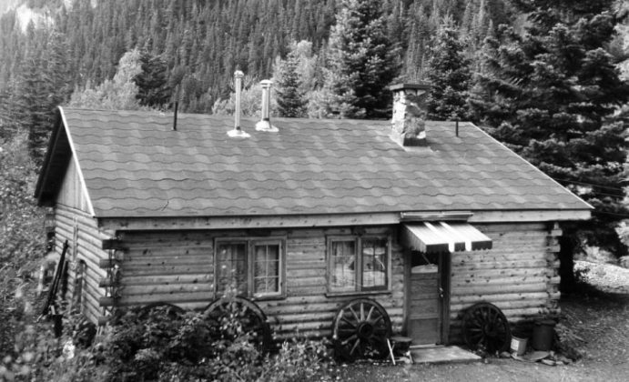 Dorothy Hamre and her husband, Alex Brownlee, lived in this house on Fedel Court in Ouray from the mid-1960s to the late 1980s. Dorothy died in Ouray in 1989. Alex died the following year in Santa Fe, New Mexico Photo courtesy Northern Arizona University, Cline Library