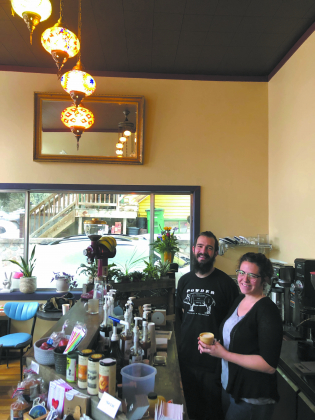 Mojos Coffee owners Heather Toth and Andrew Hart opened their shop in Ouray across from City Hall.