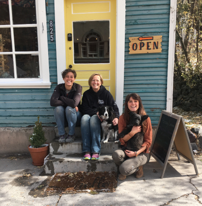 Jen Norvell, Aliyah Field and Meadow Coldon have opened Mountain Dog Art at 825 Main St. in Ouray.