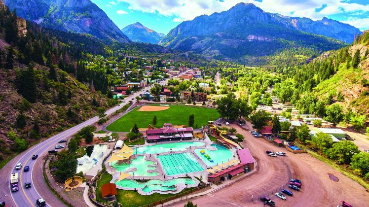 The Ouray Pool has been approved for up to 250 swimmers with a new state variance granted this week.
