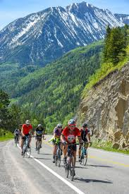 Riders travel from Carbondale to Hotchkiss on the Ride the Rockies 2019 route. Photo courtesy Ride the Rockies