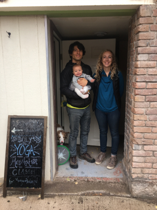 Wisdom Underground owners owners Adam Andrade and Katey Fetch have opened a yoga studio in Ouray and hope to expand classes soon.